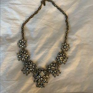 Bauble Bar Art Deco statement necklace